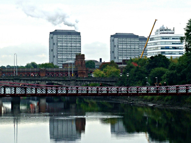 The River Clyde at Glasgow