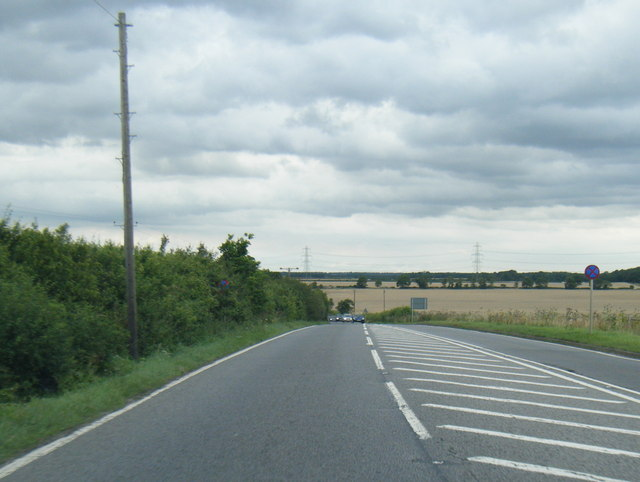 A15 northbound near Dunsby