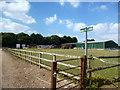 SU9098 : Footpath at Affrick's Farm by Des Blenkinsopp