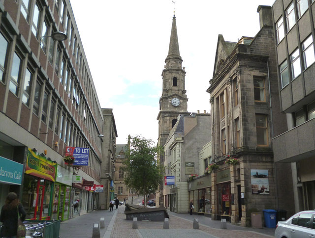 Inverness: Church Street © Dr Neil Clifton :: Geograph