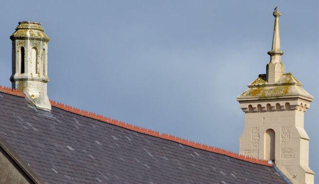 Roof detail, Newtownards Methodist church