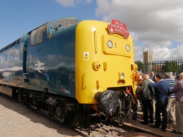 Deltic Locomotive at Grantham Festival of Speed