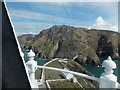 SH2082 : South Stack: view from the lighthouse by Chris Downer