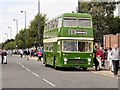 SK9135 : Vintage Bus Service, Grantham Festival of Speed by David Dixon