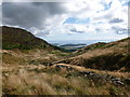 NX7855 : The head of the Glen of Screel by Alan O'Dowd