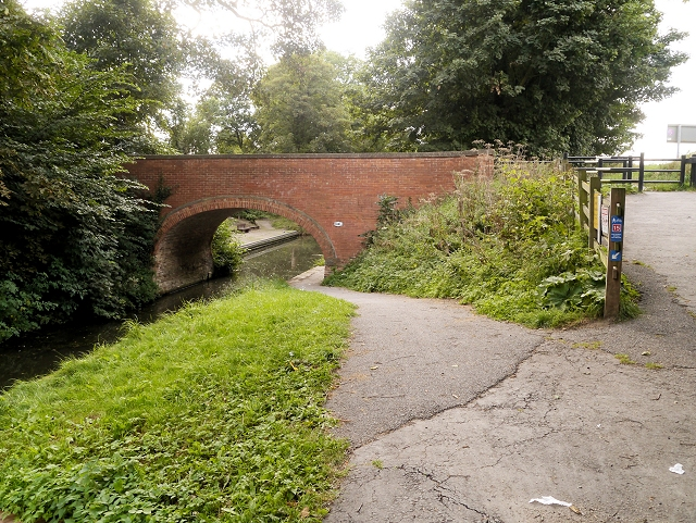 Grantham Canal, Harlaxton Bridge