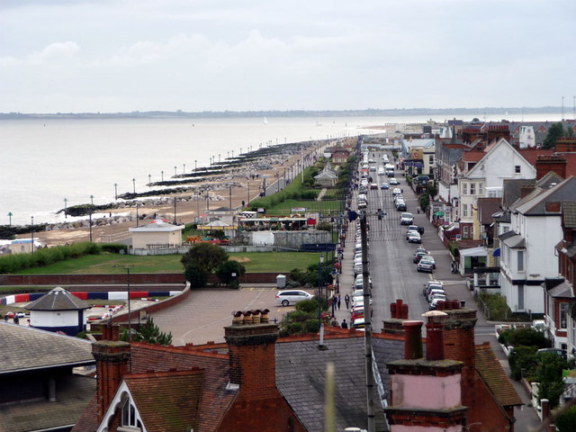 Felixstowe Seafront - Sea Road