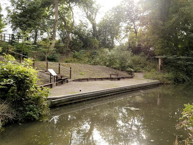 Grantham Canal, Harlaxton Wharf