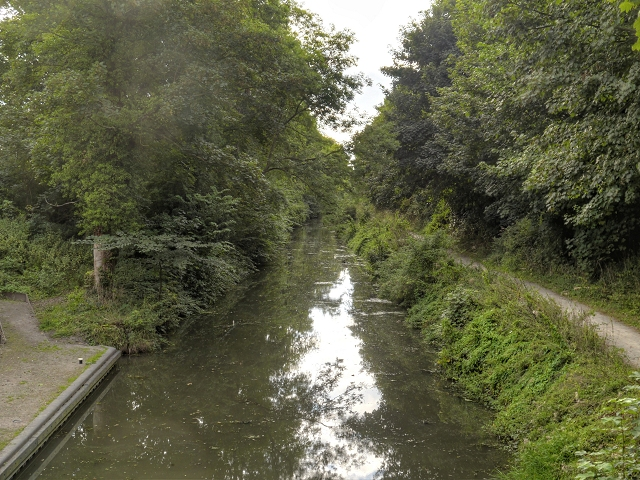 Grantham Canal, Harlaxton Cutting