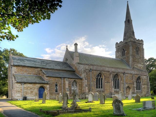 All Saints' Church, Barrowby