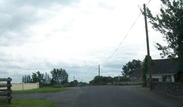 Clonlyon Cross Roads on the Belmont Road