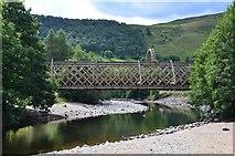 NN8765 : Railway bridge, Blair Atholl by Jim Barton