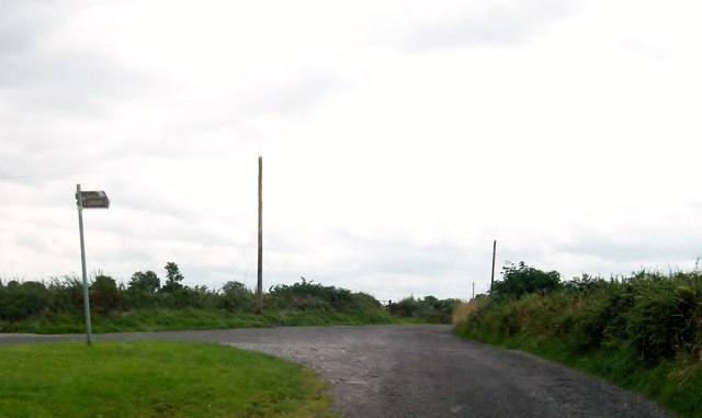 Junction of the Clonfinlough Road and the Belmont Road