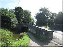 SE0424 : Bridge No 4, Rochdale Canal by John Slater