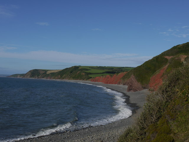 Cliffs at Peppercombe