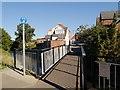 SK9235 : Footbridge Over River Witham by David Dixon