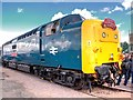 "SK9135 : Deltic ""Royal Highland Fusilier"" at Grantham Festival of Steam by David Dixon"
