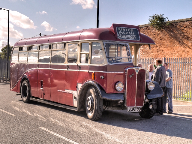 Vintage Bus Service, Grantham Festival of Speed