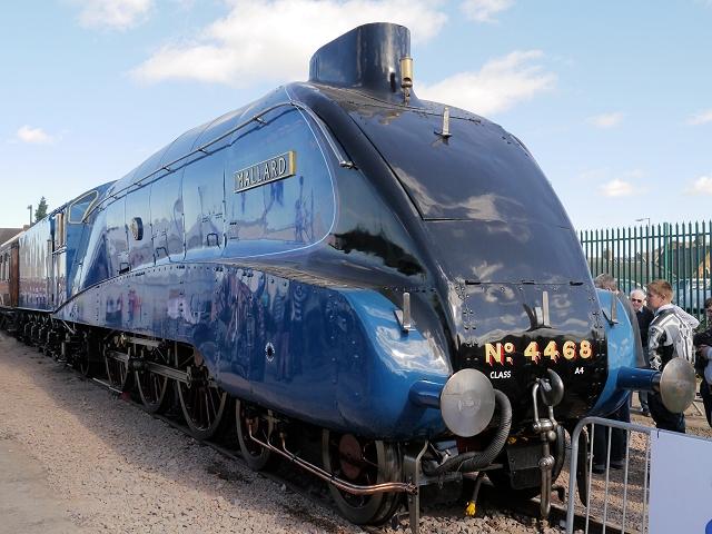 4468 Mallard at Grantham Festival of Steam 2013
