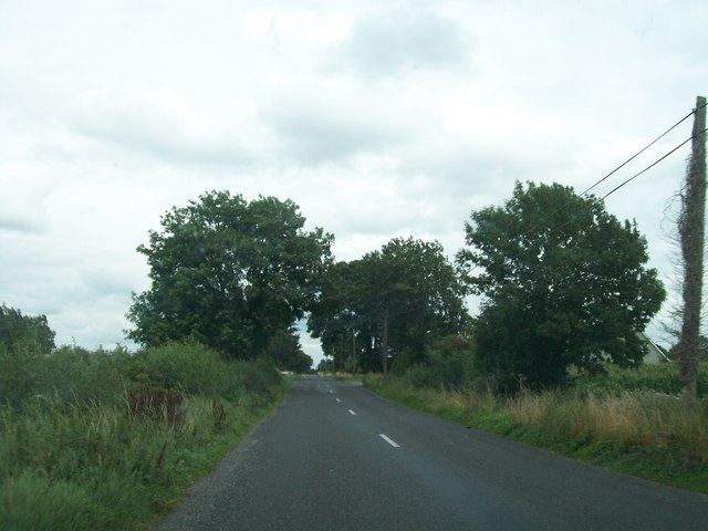 View east along the R357