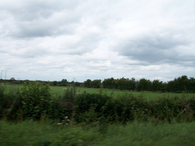 Farmland north of the R357