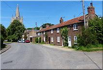 TF5617 : Church Row in Tilney All Saints by Mat Fascione