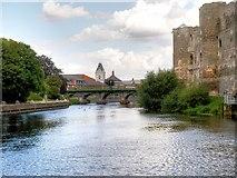 SK7953 : River Trent, Newark by David Dixon