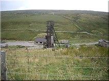 NY8944 : Pithead, Grove Rake Mine by Stanley Howe