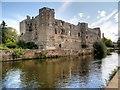 SK7954 : Newark Castle and River Trent by David Dixon