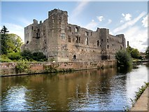 SK7954 : Newark Castle and River Trent by David Dixon
