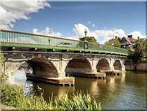 SK7954 : Trent Bridge,Newark by David Dixon