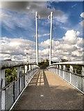 SK7954 : The Jubilee Bridge, Newark-on-Trent by David Dixon