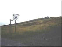 NY9141 : Scarsike Head summit by Stanley Howe
