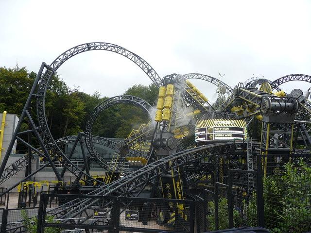 Part of Alton Towers Theme Park