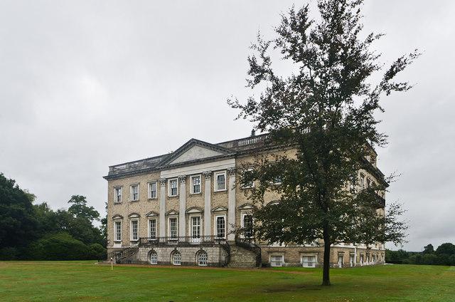 Claremont - rear facade
