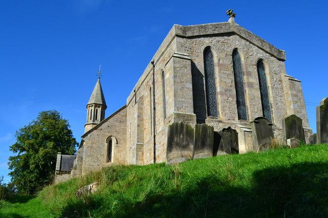 St. Andrew's church, Winston