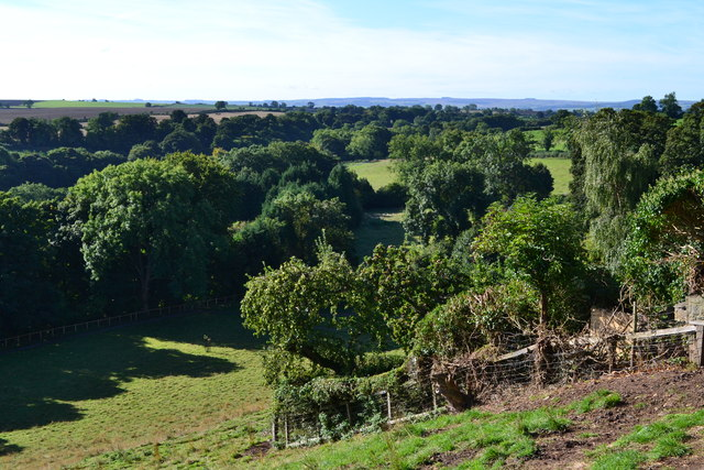 View over the Tees valley from Winston Church