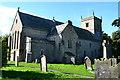 NZ1616 : Gainford Church and churchyard by David Martin