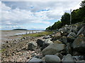 NX8150 : Boulders on the shore, Auchencairn Bay by Alan O'Dowd