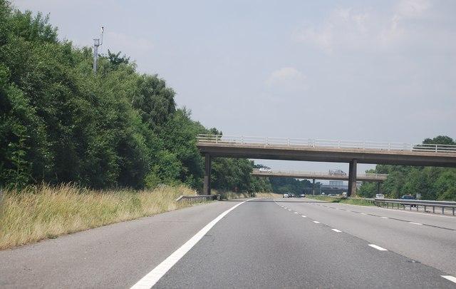 M23, J10 overbridges