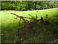 ST7671 : Ancient farming implement glimpsed from the Limestone Link by Basher Eyre