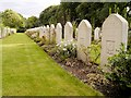 SK8052 : Polish War Graves, Newark Cemetery by David Dixon