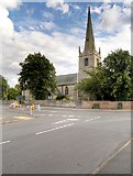 SK8151 : St Giles' Church, Balderton by David Dixon
