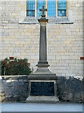 SK8151 : Balderton War Memorial by David Dixon