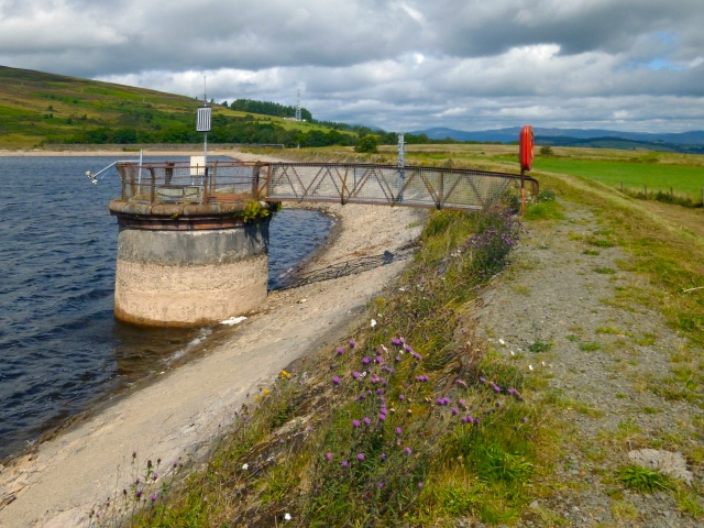 Carman Reservoir: valve tower