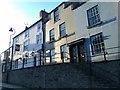 NZ2742 : Evening sunlight, Crossgate, Durham by David Martin