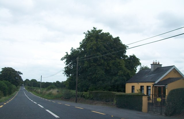 Traditional cottage on the N52 west of the Westmeath-Meath border