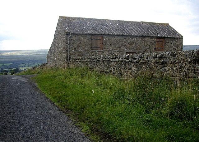 Two-storey stone barn