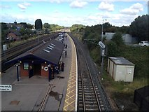 SE4081 : Thirsk railway station by Stacey Harris