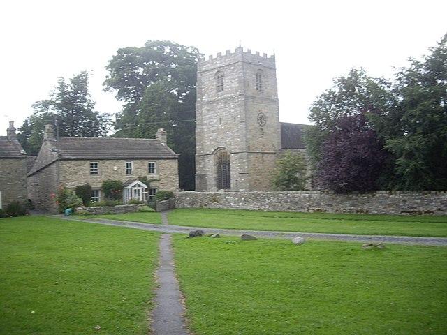 Path to Romaldkirk Church